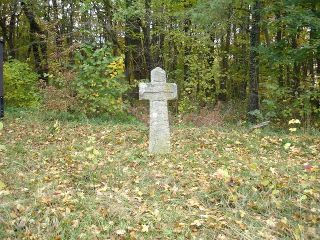 Das Steinkreuz.