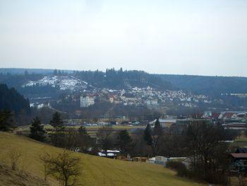 Blick nach Mühlheim zwischen Kehre 1 und 2