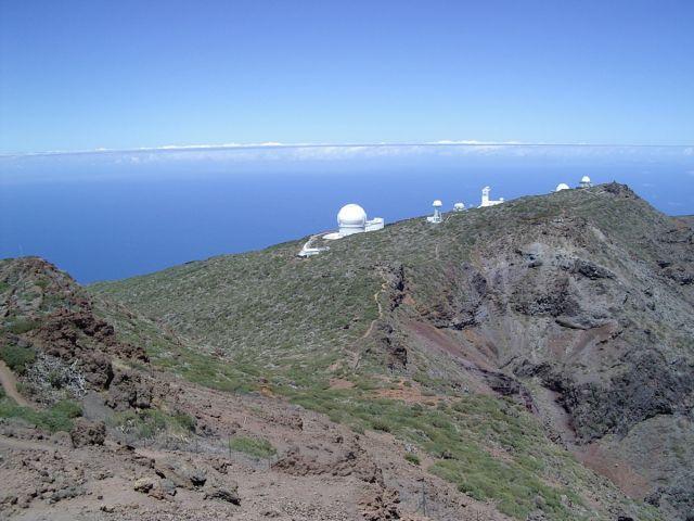 Toller Blick auf die Observatorien.