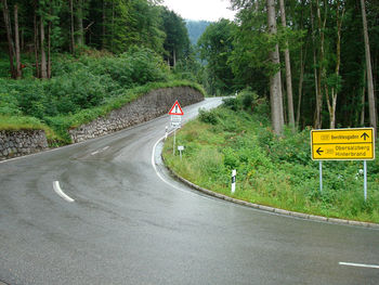 Anstieg zur Roßfeldstraße
