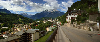 Panorama von Berchtesgaden