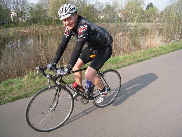 Peter am Teltow-Kanal / Mauerradweg.