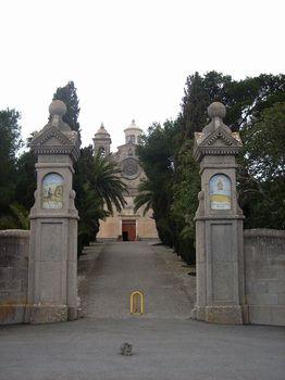 Die Ermita de Bonany (mit Bewacher).