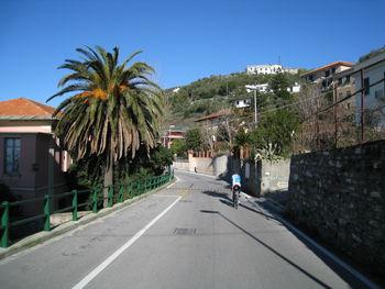Auf der Via Aurelia Richtung Norden. (Februar 2009)
