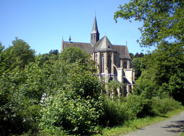 Der Bergische Dom in Altenberg.