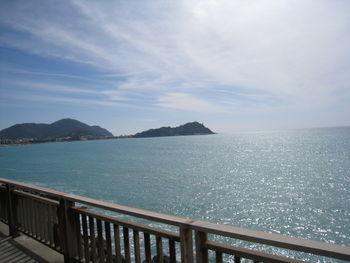 Ausnahmsweise flache Fahrt nach Sestri Levante. (März 2009)