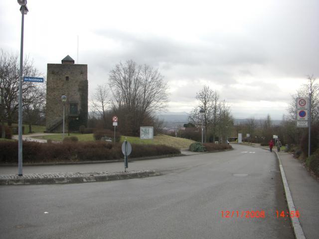 Der Aussichtsturm am Stumpenhof.