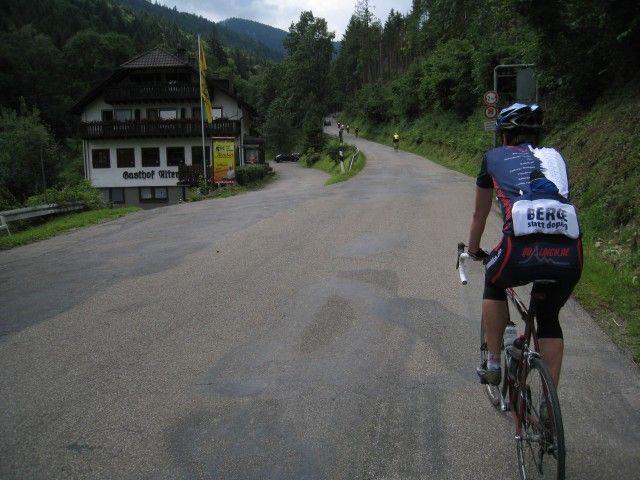 Kurz vor dem ersten Steilstück.