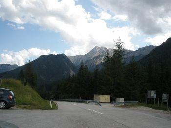 Die Haller Mauern - wenig östlich vom Pass.