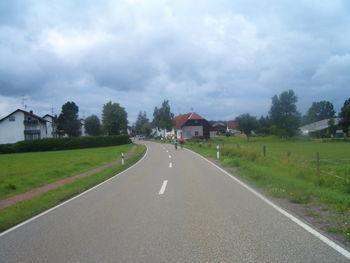 Etappe 5 - 08.07.2009 Ankunft in Birkendorf