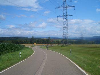 Etappe 5 28 - 08.07.2009 Ankunft der langsamen Leistungsgruppe nach langer Wartezeit