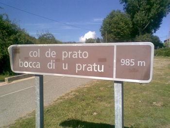 - Prato auf dem Gipfel.