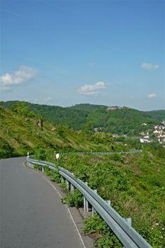 01 oberhalb Hohenlimburg, Blick auf das Schloß von Hohenlimburg