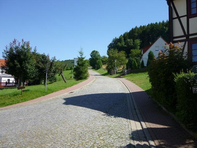 Zugabe Auffahrt nach Rimbach (Gewegfahren kostet Zeitstrafe).