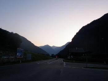 Morgens um 5:30 in Winklern
