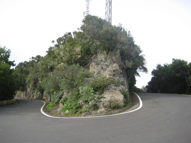 Der Wendepunkt am Pico del Ingles.