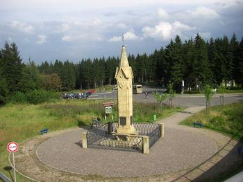 Der Obelisk am Rondell.