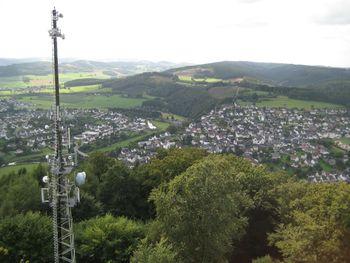 Küppel, Aussicht vom Turm Richtung Süden