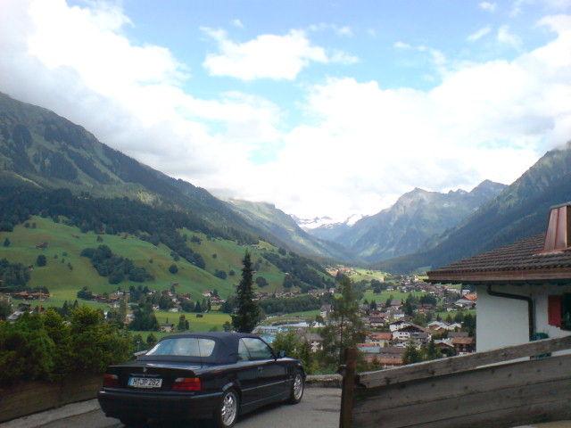 Kloster - Blick Richtung Silvretta.