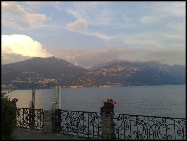 Abendstimmung am Lago di Como.