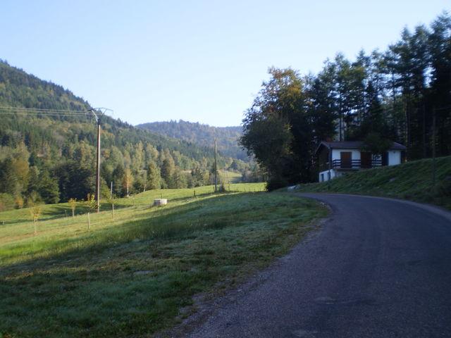 ....in einem stillen Tal unterwegs.