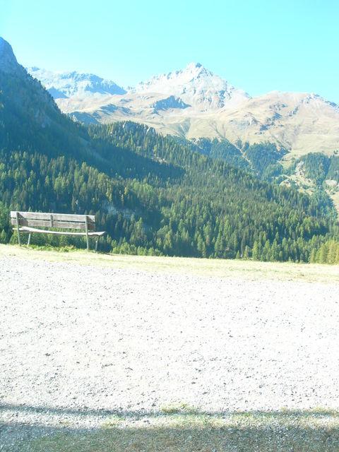 8 km vor der Julierpasshöhe