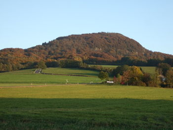 Milseburg - Auffahrt von Kleinsassen.