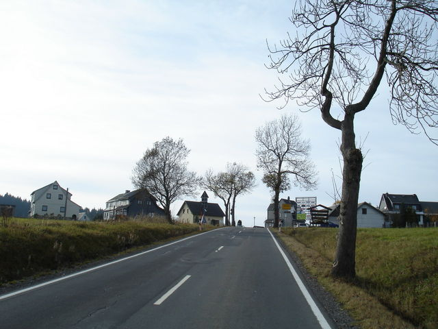 Ortseingang Steinheid.