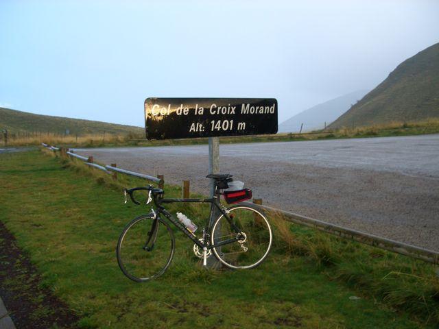 Col de la Croix Morand.