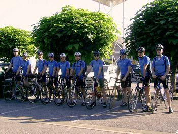 In Albertville am Start: Stephan, Ekki, Karl-Heinz, René, Josef, wolfgang, Stefan, Pascal, Norbert und Christian.