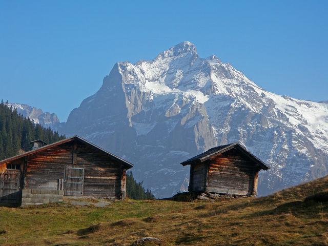Hübsche Alphütten