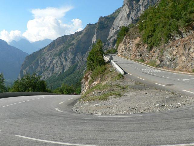 Kehre 20 nach Alpe d'Huez.