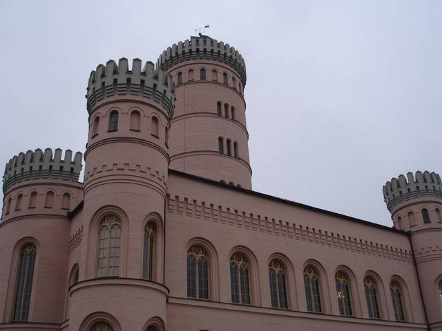 Tempelberg das Schloss.