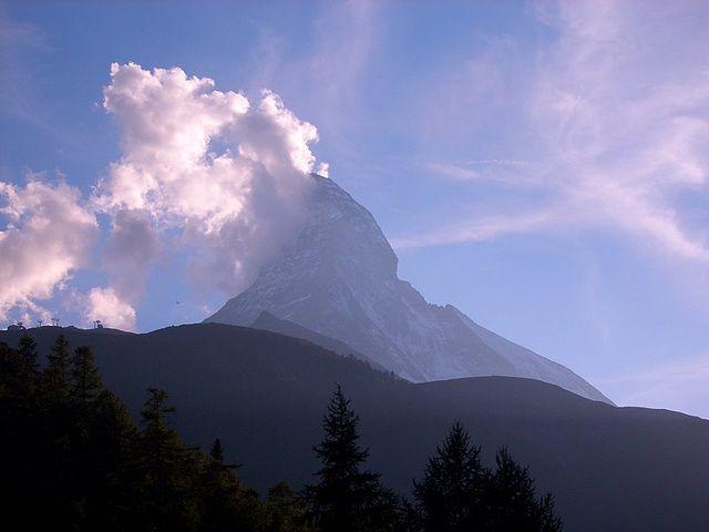 Matterhorn von Zermatt.