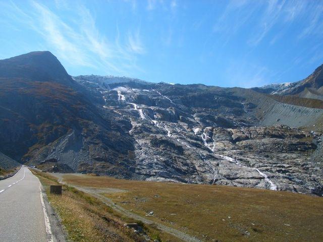 hier war mal Gletscher.