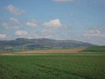 Der Hesselberg von Südwesten.