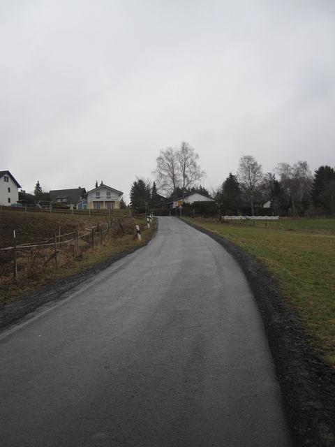 Einfahrt nach Niederbuchholz.