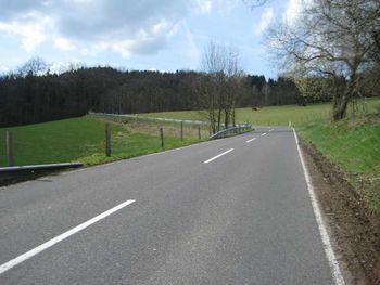 Vom Ortsausgang Nochen in Richtung Berghausen