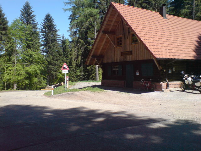 Passhöhe Freyersberg