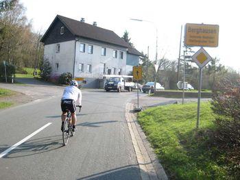 Der Hochpunkt in Berghausen