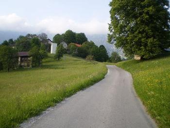 Die steile Rampe vor Krn...