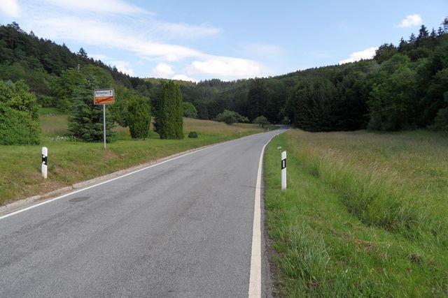 Ortsende Waldhausen