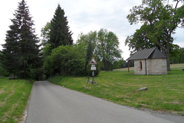Die Josefskapelle auf dem Ortenberg