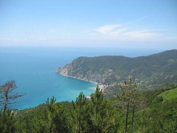 Blick auf die Bucht von Levanto...