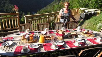 Frühstück Le Rozet
