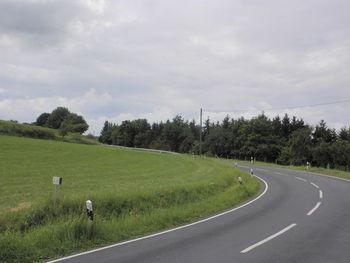 Linkskehre zur Aurahöhe