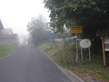 Ortseinfahrt