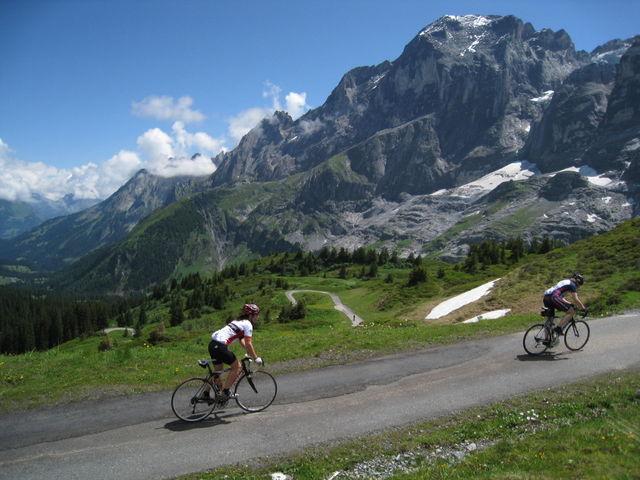 An der Grossen Scheidegg