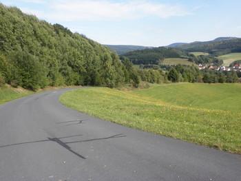 Blick vom Heubacher Berg nach Kothen