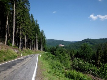 ein Blick zurück auf eine der schönsten und einsamsten Ecken des Odenwaldes lohnt